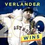 【MLB2018】J・バーランダーがキャリア200勝を達成、HOUは再び単独首位に