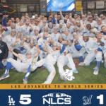 【NLCS 2018 Gm7】ブルワーズ、爽やかな終戦!ドジャースがWSへ。MVPはC・B!