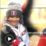 """【BOSTON パレード 2018】""""Go! Red Sox""""と叫ぶイオバルディの息子が可愛いすぎ"""