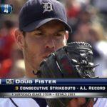 【MLB Pre-2019】ダグ・フィスターが引退を表明!バーランダー、シャーザーとともにタイガースの黄金時代を支えた右腕